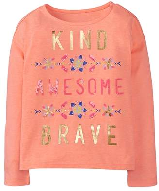 Crazy 8 Neon Kind Awesome Brave Tee