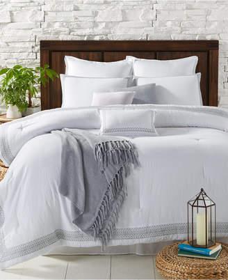 Sunham Edison 10-Pc. Embroidered King Comforter Set Bedding