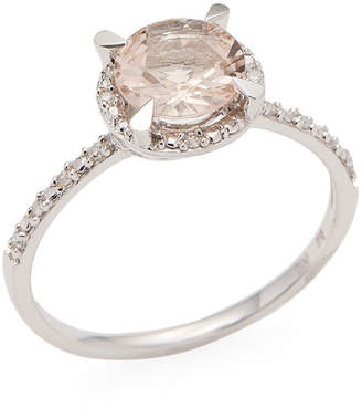 Rina Limor Fine Jewelry Morganite Halo Ring