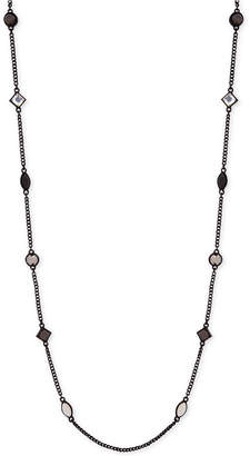"DKNY Crystal & Stone 42"" Strand Necklace"
