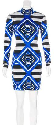 Mara Hoffman Intarsia Mini Dress