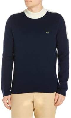 Lacoste Knitted High Neck Sweater