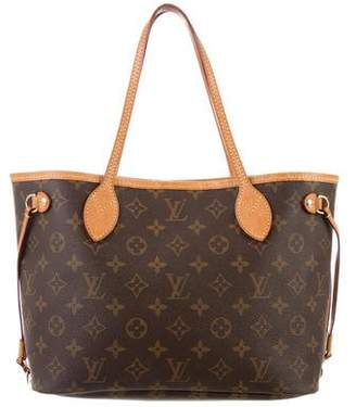 Pre Owned At Therealreal Louis Vuitton Monogram Neverfull Pm