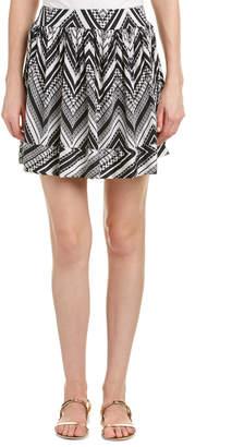T-Bags LosAngeles tbagslosangeles Tbagslosangeles Printed Skirt