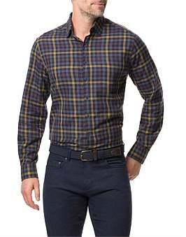 Rodd & Gunn Stanaway Long Sleeve Shirt Mustard