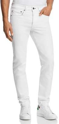 Rag & Bone Fit 1 Slim Fit Jeans in White