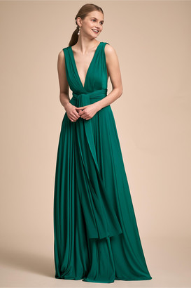 story. Twobirds Ginger Convertible Maxi Dress