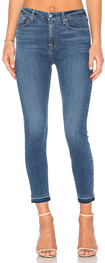 7 For All Mankind B(Air) The High Waist Ankle Skinny.