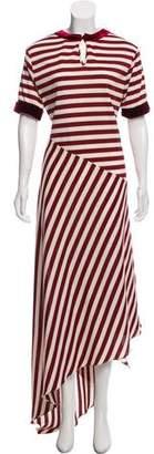 Johanna Ortiz Striped Maxi Dress w/ Tags