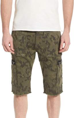 True Religion Brand Jeans Touring Moto Shorts