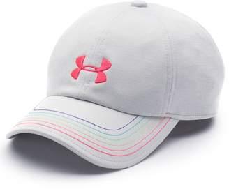 Under Armour Girls 4-16 Logo Free Fit Cap