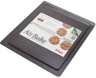 """T-Fal AirBake Non-Stick 2-Pack Cookie Sheet Set, 14"""" x 12"""" and 16"""" x 14"""""""
