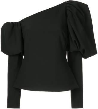 Osman puff sleeved blouse
