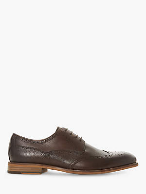 Dune Souris Leather Brogues