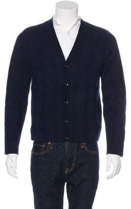 Valentino Cable Knit Cardigan