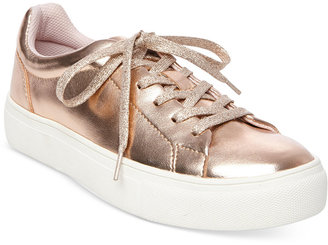 Madden Girl Kitten Lace-Up Sneakers $49 thestylecure.com