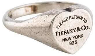 Tiffany & Co. Heart Signet Ring