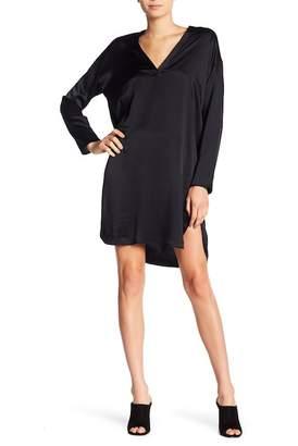 Vince V-Neck Tunic Dress