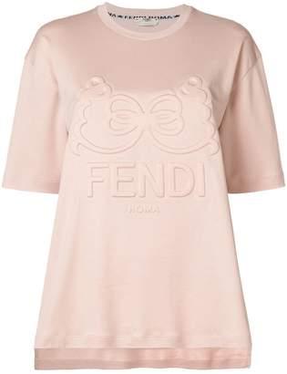 Fendi logo crewneck T-shirt