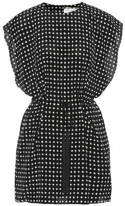 Saint Laurent Printed silk dress