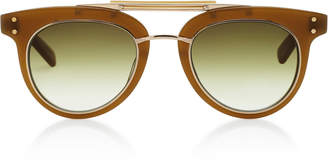 Laurèl Mr. Leight SL Aviator-Style Acetate And Metal Sunglasses