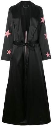 Philipp Plein belted star print jacket