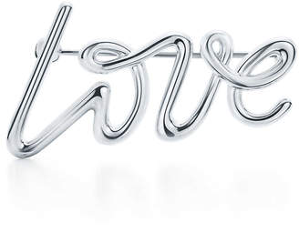 Tiffany & Co. Paloma's Graffiti love brooch