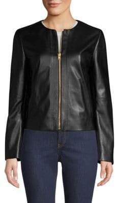 Escada Sport Leather Zip Jacket