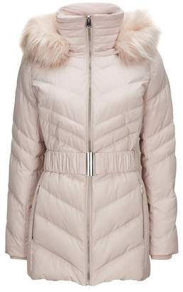 Wallis Petite Blush Padded Coat