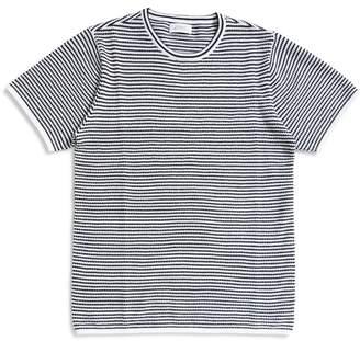 Saturdays NYC Brandon Stripe T-Shirt Black