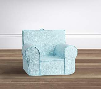 Pottery Barn Kids My First Sky Blue Dalmation Dot Anywhere Chair®