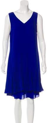 Polo Ralph Lauren Silk Knee-Length Dress