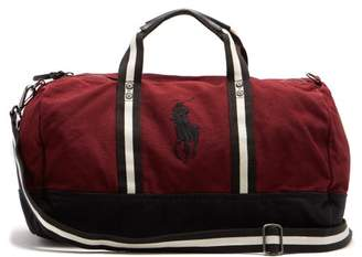 Polo Ralph Lauren Cotton Canvas Holdall - Mens - Red