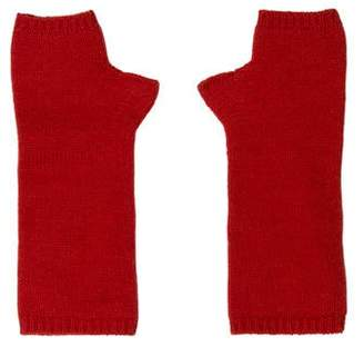 Armand Diradourian Fingerless Cashmere Gloves