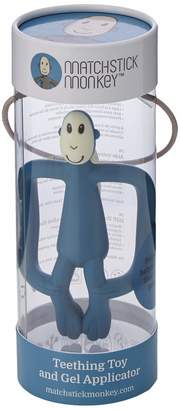 Matchstick Monkey Teething Toy Airforce Blue