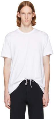 Comme des Garcons White Open Back Strap T-Shirt