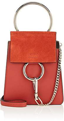Chloé Women's Faye Mini Leather & Suede Bag