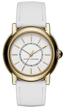 Marc Jacobs Women's Courtney White Leather Watch - MJ1449