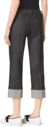 Michael Kors Black Cuffed Jeans