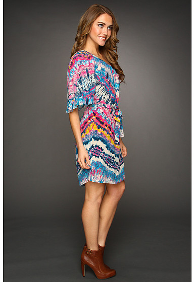 Twelfth St. By Cynthia Vincent by Cynthia Vincent Draped Shoulder Party Dress