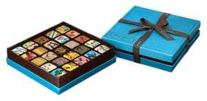 MarieBelle 25-Piece Ganache Blue Box Set