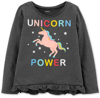 Carter's Toddler Girls Unicorn Graphic Top