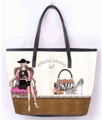 OH FASHION OH Fashion Women Tote Glamourous Ona PU Leather, Travel, Beach, Big Handbag , makeup organizer Fashion