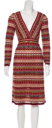 Missoni Knit Knee-Length Dress