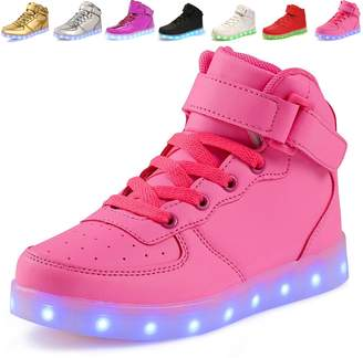 3.1 Phillip Lim ANLUKE 11 Colors LED Sneakers Light Up Flashing Shoes as gift for Boys Girls Men and Women 35