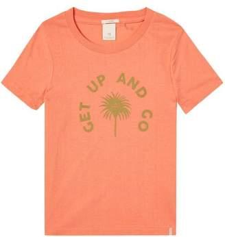 Scotch & Soda Bright Artwork T-Shirt