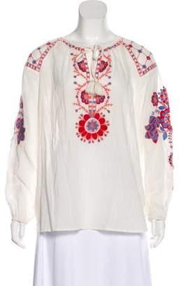 Antik Batik Danah Embroidered Top