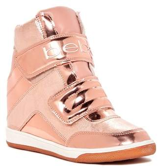 Bebe Cobble Wedge Sneaker