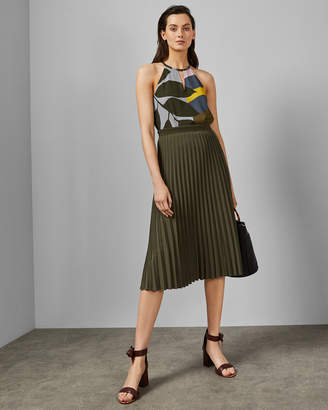 Ted Baker TODDLE Maple Swirl halter neck top