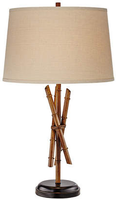 Pacific Coast Rods of Bamboo Table Lamp 2pk